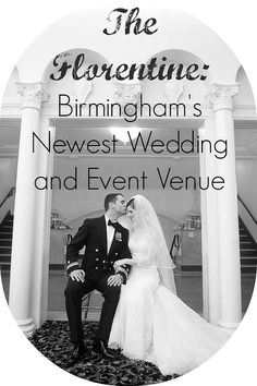 On-Site Wedding Receptions | The Florentine: A Magnificent New Wedding Venue #TheFlorentine #AlabamaWeddings #BirminghamWeddings #BirminghamWeddingVenues #SouthernWeddings #GreatGatsbyWeddings