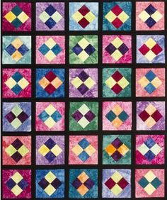 Blooming Blossoms Quilt As You Go Pattern, Fun & Done Quilting by ... : batting buddy quilt as you go - Adamdwight.com