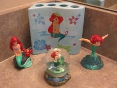 Little Mermaid Bathroom Set