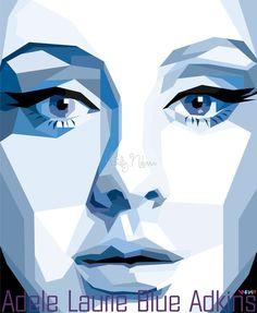 Adele Laurie Blue Adkins in WPAP by sangpendosa