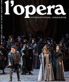 Sulla copertina della rivista internazionale LOpera