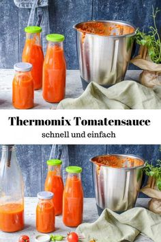 Thermomix Tomatensauce – auf Vorrat {Ruck Zuck fertig} Thermomix tomato sauce – in stock {ready in no time} – A Matter Of Taste Knorr Spinach Dip, Best Spinach Dip, Spinach Cheese Dip, Vegan Spinach Dip, Creamy Spinach Dip, Spinach Health Benefits, Sauce Tomate, Easy Appetizer Recipes, Dinner Recipes