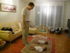 Father and twins funny dance Funny Babies Dancing, Dancing Baby, Funny Dance, Cute Gif, Funny Cute, Funny Images, Funny Pictures, Funny Pics, Funny Stuff