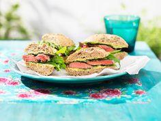 Sandwiches mit Rindsfilet I © GUSTO / Eisenhut & Mayer I www.gusto.at