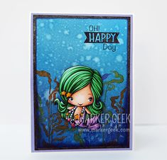 The Greeting Farm - Magical kit Mermaid - www.markergeek.com  #tgf #thegreetingfarm