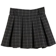 Vintage Plaid Elastic Waist Bubble Skirt ($23) ❤ liked on Polyvore featuring skirts, bottoms, black, clothes - skirts, wool mini skirt, wool skirt, vintage skirts, mini skirt and tartan mini skirts
