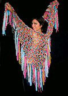 Fashion bytes the silk shawl by designer cecilia de bucourt was made