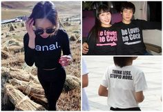 Bad Translations Lead To The Best English T-Shirts In Asia. You'll probably laugh throughout your entire Asian experience with fashion.