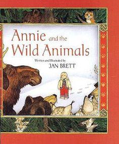 Animals in Winter ~ Picture Book ~ Annie and the Wild Animals - Jan Brett