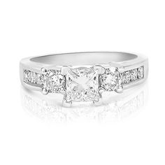 Affordable Real Diamond Engagement Rings