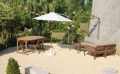 Projet d'aménagement de terrasse en alvéostar® - entreprise carpentier