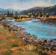 The Lamar River