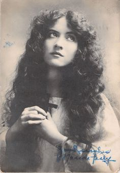 Maude Fealy Silent Movie Actress Autographed Real Photo Postcard | eBay