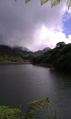 Dominica's Freshwater Lake is at 2,500ft  and as well as simply being a quiet and inspiring place to hang out, has several great trails nearby. Read moer about Freshwater Lake here... http://www.avirtualdominica.com/freshwaterlake.cfm