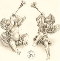 Výsledek obrázku pro barocco little angel horn