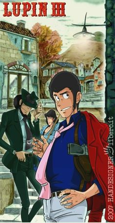 Lupin e co. in Vesuvio's land by handesigner on DeviantArt Old Anime, Manga Anime, Detektif Conan, Lupin The Third, Manga Covers, Cowboy Bebop, Anime People, Light Novel, Anime Comics