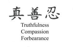 The 3 universal principles of Falun Gong