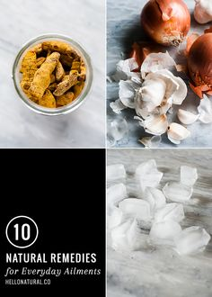 10 Natural Remedies for Everyday Ailments