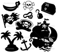 silhouette cameo projects pirates - Google Search