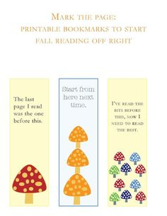 Lizz the Librarian: A Librarian Needs Printables - book marks and other free printables  :-)