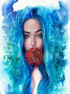 "Tanya Shatseva #tanya #photo ""art "" drawing #ink # paper #acrylic # beautiful…"