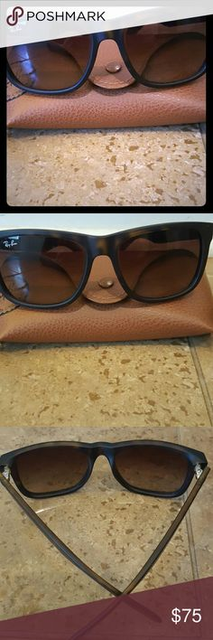 Ray-Ban Ray-Ban sunglasses! Really comfortable fit and looks great on you! Ray-Ban Accessories Sunglasses