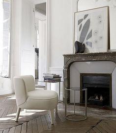 antique marbre fire place mangle &amp
