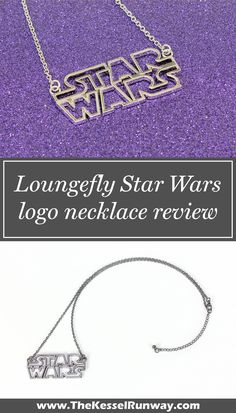 Loungefly Star Wars logo necklace review - The Kessel Runway