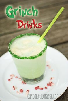 Grinch Drinks | cupcakediariesblog.com