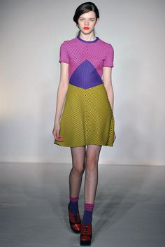 That's just a cute dress. House of Holland Fall 2012 RTW at London Fashion Week.