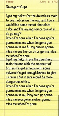 love this Divergent Cup Song!ive found the song of the divergent fandom! Divergent Dauntless, Divergent Hunger Games, Divergent Fandom, Divergent Funny, Divergent Trilogy, Divergent Insurgent Allegiant, Divergent Quotes, Insurgent Quotes, Divergent Plot Twist