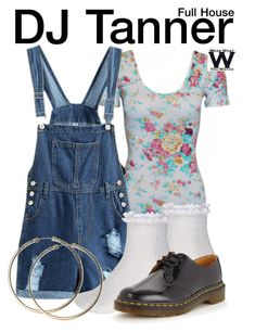 """""""Full House"""" by wearwhatyouwatch ❤ liked on Polyvore featuring River Island, Dr. Martens, television and wearwhatyouwatch"""