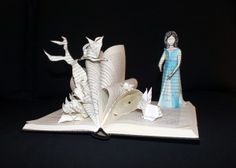 Alicia en el País de las Maravillas. Alice au Pays des Merveilles. Alicia in Wonderland.... Paper art !