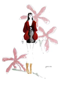 Ispirato sfocato outerwear rosso sangue per 313 Autunno campagna
