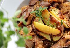 ZIMNÁ HLIVA S KAPUSTOU Oysters, Beef, Cooking, Healthy, Food, Tips, Meat, Kitchen, Essen