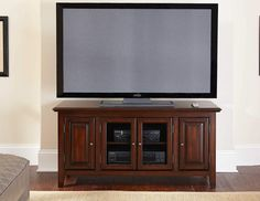 "54"" Cherry Tv Cabinet - FFO Home"