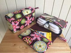 Carnival bloom diaper clutch gift for her diaper bag