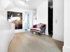 OAK Clear Wide-Plank, brushed, white oiled I Living I natural wood floors I mafi.com