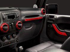 Jeep Wrangler Interior Trim Kit