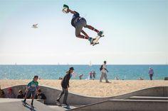 Fondo de Pantalla de Patinar, Skate, Playa, Sol, Diversión