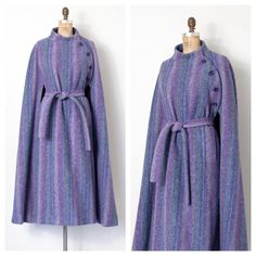 JUST IN! 1970s Hourihan cape-coat | one size by swaneegrace