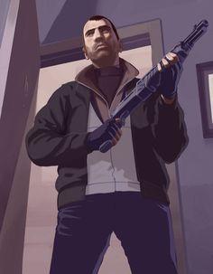 3375_gta_iv_artwork_niko_bellic_shotgun_purple