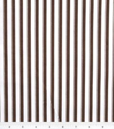 Nursery Baby Basic- Stripe Brown : nursery fabric : fabric :  Shop | Joann.com