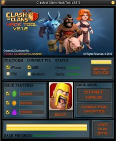Clash Of Clans Hack Cheats Tool 2014 100% Working