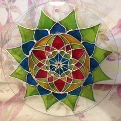 Harmónia, Otthon & lakás, Dekoráció, Kép, Képzőművészet, Festmény, Festészet, Üvegművészet, Meska Mandala, Organization, Creative, Nature, Diy, Getting Organized, Organisation, Naturaleza, Bricolage