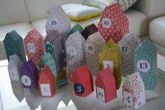calendrier de l'avent origami mini labo