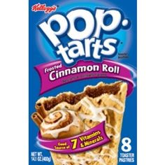 Cinnamon Roll Pop-Tarts    Available to buy online in Australia.