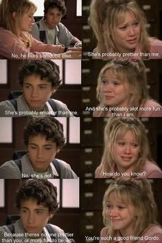 Poor Gordo, he's friend-zoned for all eternity. Should have changed his name to Ron.