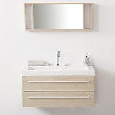 """$800   40"""" Bathroom Vanity Set with Mirror Barcelona Beige"""