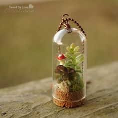 Make a DIY Terrarium Necklace — Saved By Love Creations